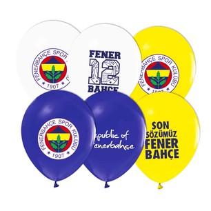 BALONEVİ - BALON EVİ 4+1 FENERBAHÇE BALON 12'Lİ
