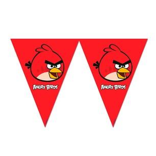 BALONEVİ - BALON EVİ ANGRY BIRDS KLASİK ÜÇGEN BAYRAK SET