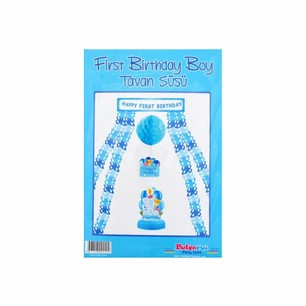 BALONEVİ - BALON EVİ FIRST BIRTHDAY BOY TAVAN SÜSÜ