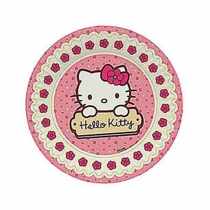 BALONEVİ - BALON EVİ HELLO KITTY TABAK 23 CM (8 AD)