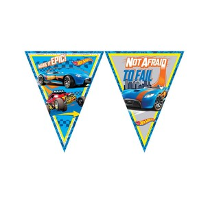 BALONEVİ - BALON EVİ HOT WHEELS LİSANSLI BAYRAK SET