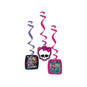 BALONEVİ - BALON EVİ MONSTER HIGH KLASİK ASMALI İP SÜS