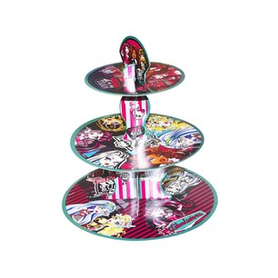 BALONEVİ - BALON EVİ MONSTER HIGH LİSANSLI CUPCAKE STANDI