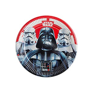BALONEVİ - BALON EVİ STAR WARS AND HEROES TABAK 23CM (8AD)