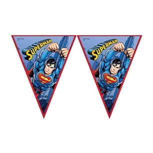 BALONEVİ - BALON EVİ SUPERMAN ÜÇGEN BAYRAK SET