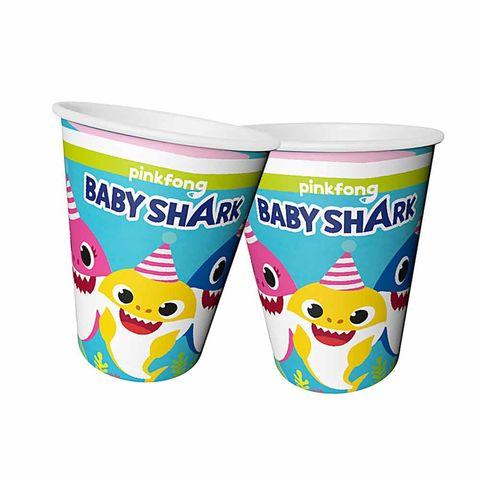 BALONEVİ BABY SHARK PARTİ ZAMANI BARDAK 220/240 CC