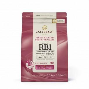 CALLEBAUT - CALLEBAUT DROP RUBY RB1 2,5 KG