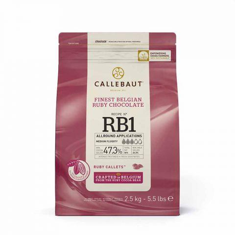 CALLEBAUT DROP RUBY RB1 2,5 KG