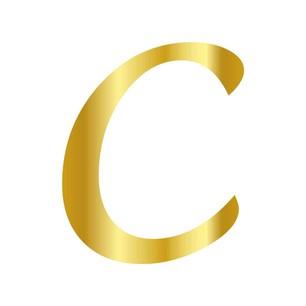 CESİL - CESİL PLEKSİ ÇUBUKSUZ ALFABE 6 CM ALTIN-C
