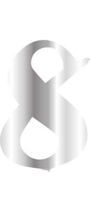 CESİL - CESİL PLEKSİ ÇUBUKSUZ RAKAM 6 CM / GÜMÜŞ - 8