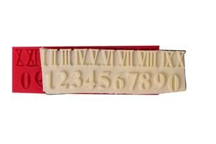 CESİL - CESİL SİLİKON KALIP - ROMA RAKAMLARI (16*5 CM)