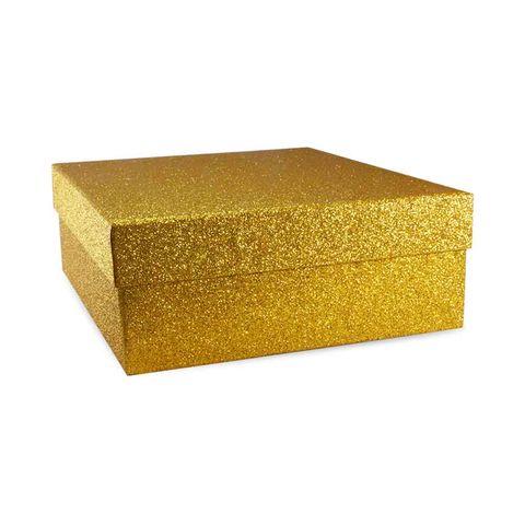 KT704 GLD SİMLİ KARE KUTU SET GOLD 2 NO