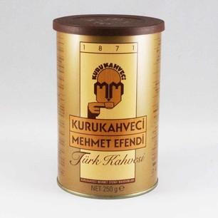 MEHMET EFENDİ - MEHMET EFENDİ KAHVE TENEKE KUTU KAHVE 250 GR