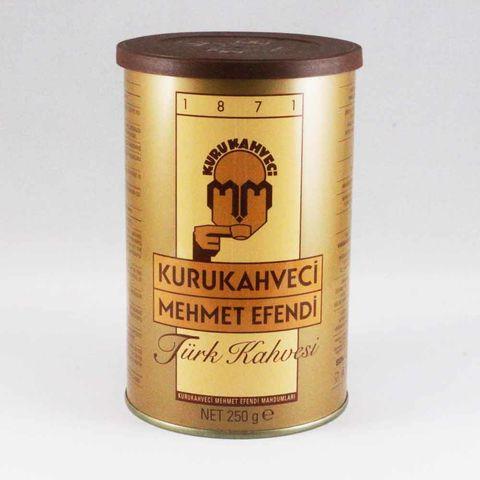MEHMET EFENDİ KAHVE TENEKE KUTU KAHVE 250 GR