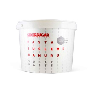 ŞEKER&SUGAR - ŞEKER HAMURU SUGAR&SUGAR 5 KG BEYAZ